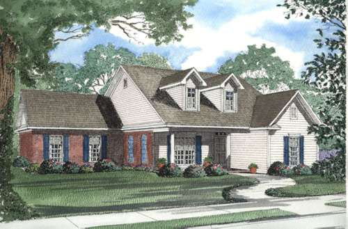 Traditional Style House Plans Plan: 12-357