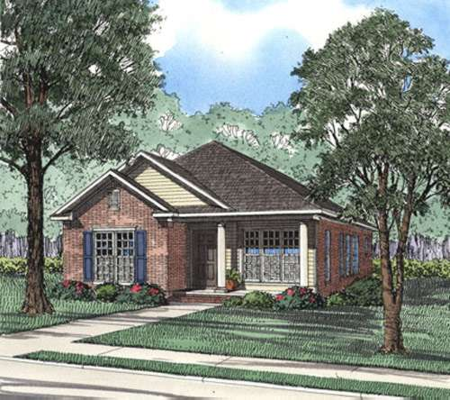 Traditional Style Floor Plans Plan: 12-358