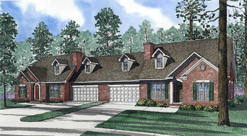 Traditional Style Home Design Plan: 12-360