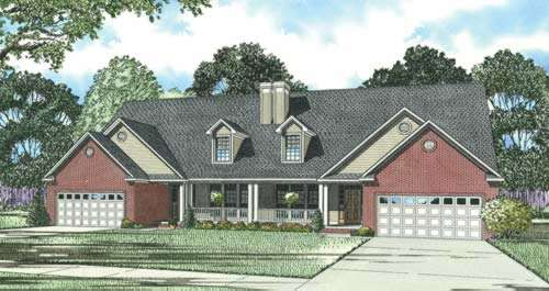 Traditional Style Floor Plans Plan: 12-361