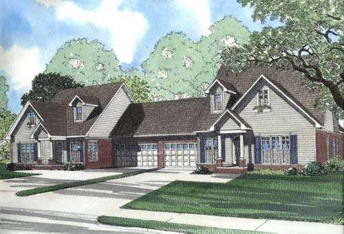 Traditional Style House Plans 12-362