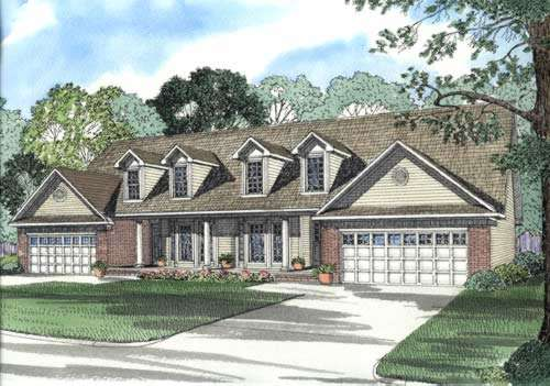 Southern Style House Plans Plan: 12-364