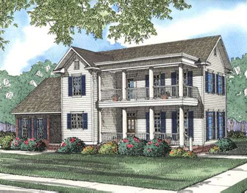 Southern Style Floor Plans Plan: 12-365