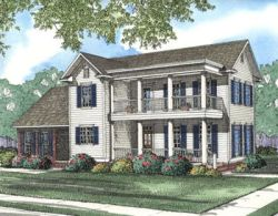 Southern Style House Plans Plan: 12-365