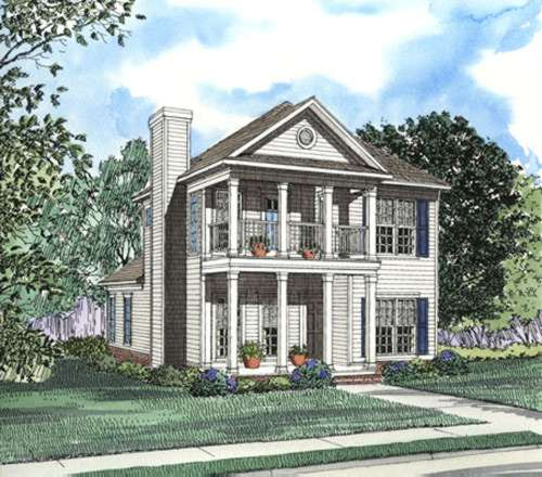 Southern Style Floor Plans Plan: 12-366