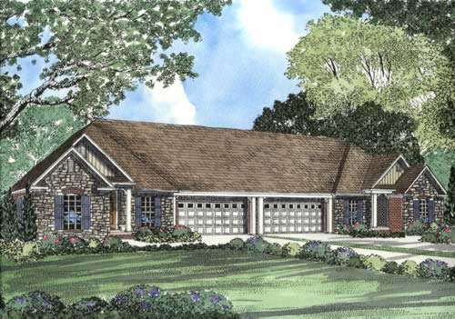 Traditional Style Home Design Plan: 12-370
