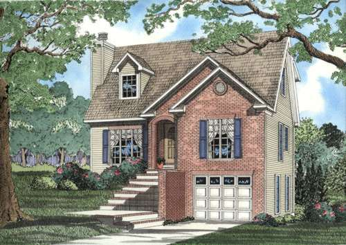 Traditional Style Floor Plans 12-372