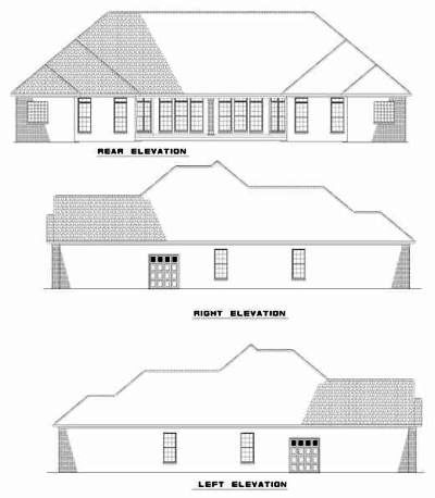 Rear Elevations Plan:12-375