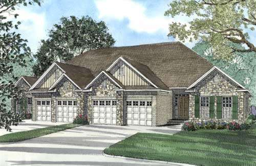Traditional Style Floor Plans Plan: 12-378