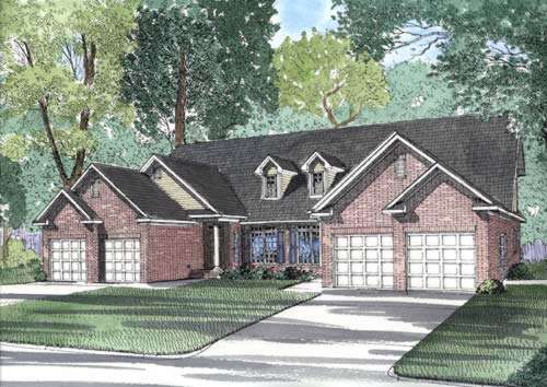 Traditional Style Floor Plans Plan: 12-379
