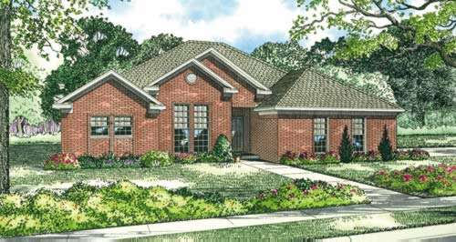 Traditional Style House Plans Plan: 12-383