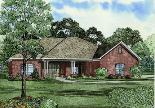 Traditional Style Floor Plans Plan: 12-385