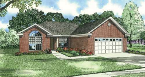 Traditional Style Floor Plans 12-388