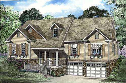 Traditional Style Floor Plans Plan: 12-393