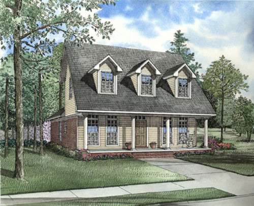 Southern Style House Plans Plan: 12-405