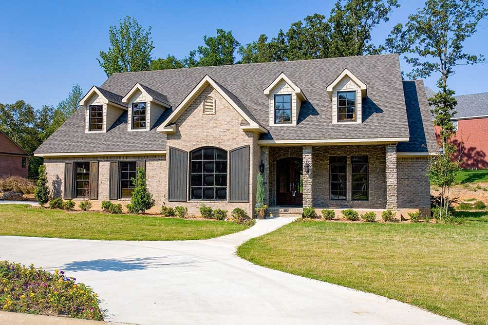 Southern Style Home Design Plan: 12-410