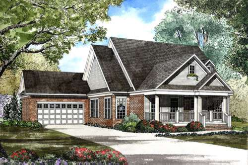 Southern Style House Plans Plan: 12-411
