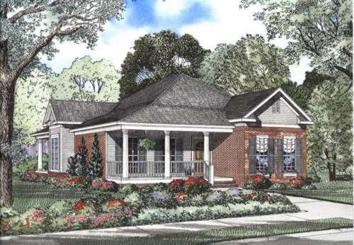 Southern Style Floor Plans Plan: 12-412