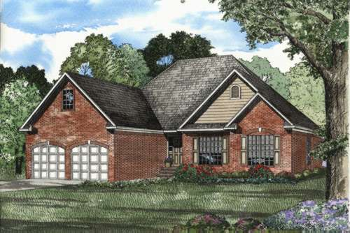 Traditional Style House Plans Plan: 12-415