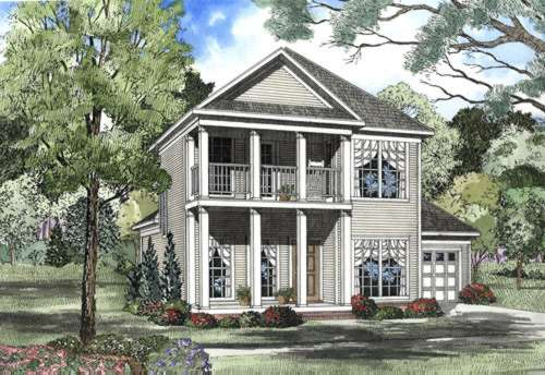 Southern Style Floor Plans Plan: 12-420