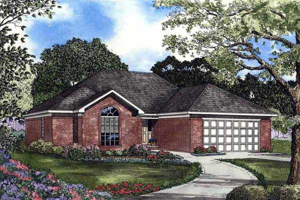 Traditional Style House Plans Plan: 12-421
