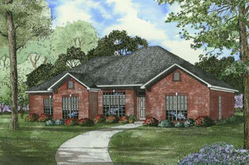 Traditional Style House Plans Plan: 12-424
