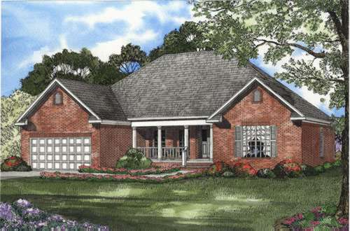 Traditional Style Floor Plans Plan: 12-426