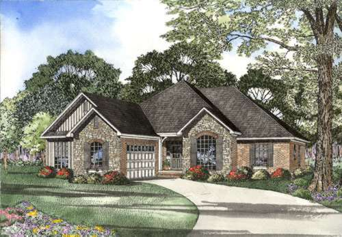 Traditional Style House Plans Plan: 12-427
