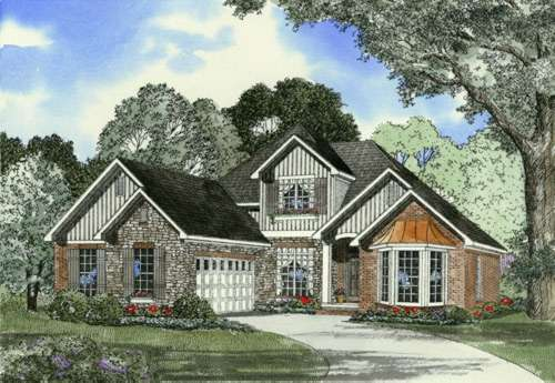 Traditional Style House Plans Plan: 12-428