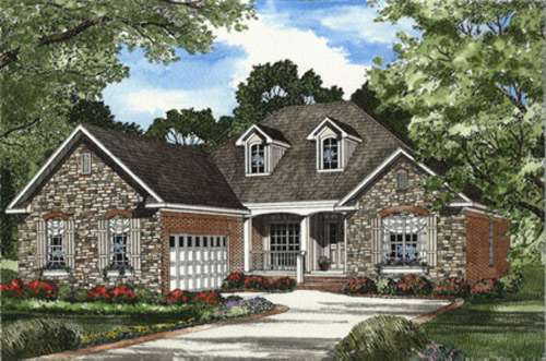 Traditional Style House Plans Plan: 12-430