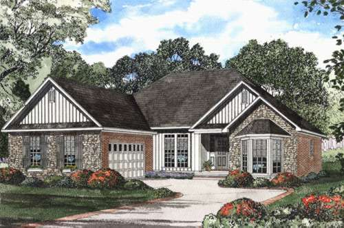 Traditional Style Floor Plans Plan: 12-431