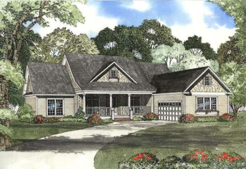 Southern Style House Plans Plan: 12-436