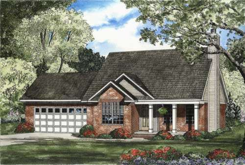 Traditional Style Floor Plans Plan: 12-438