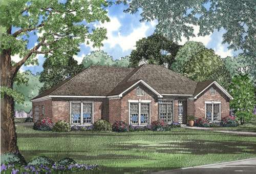 Traditional Style House Plans Plan: 12-449