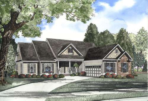 Traditional Style Home Design Plan: 12-452