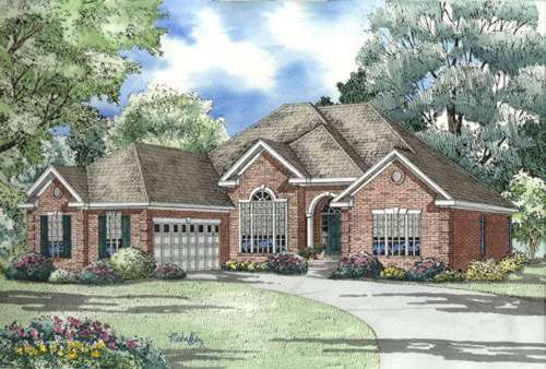 Southern Style Floor Plans Plan: 12-455
