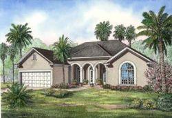 Mediterranean Style House Plans Plan: 12-467