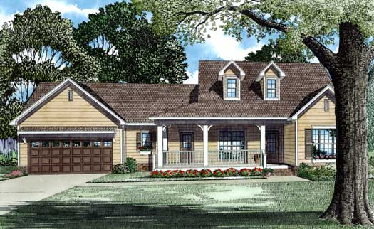 Country Style Floor Plans 12-473
