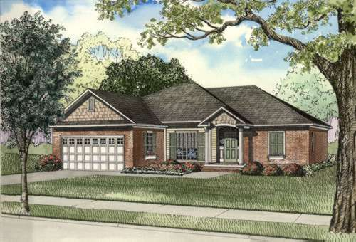 Traditional Style Floor Plans Plan: 12-476