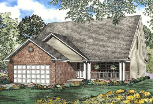 Traditional Style Home Design Plan: 12-481