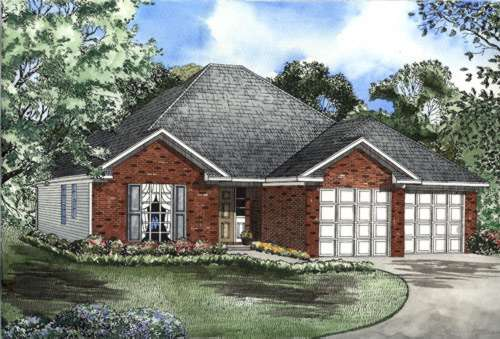 Traditional Style Floor Plans Plan: 12-484