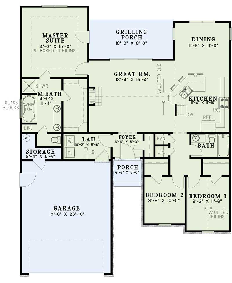 Main Floor Plan: 12-486