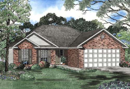 Traditional Style House Plans Plan: 12-487