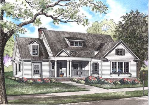 Southern Style House Plans Plan: 12-489