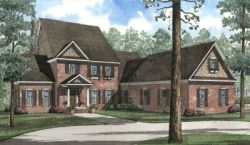 Southern Style House Plans Plan: 12-495