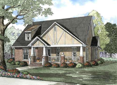 Bungalow Style House Plans 12-500