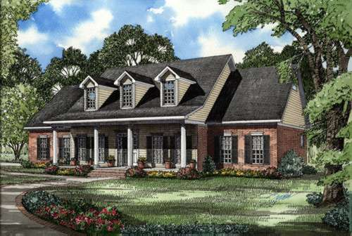 Southern Style House Plans Plan: 12-501