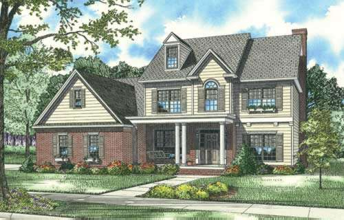 Southern Style Floor Plans Plan: 12-502