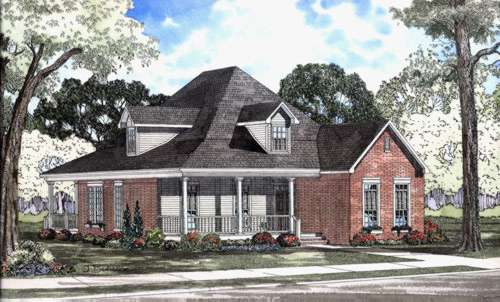 Southern Style House Plans Plan: 12-503