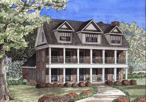 Southern Style House Plans Plan: 12-507